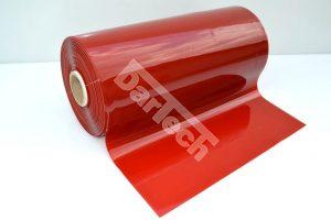 hegesztő szalag, piros PVC